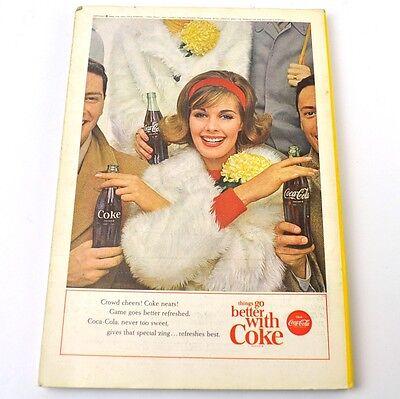 Antiquitäten Anzeigen (Coca-Cola Coke Anzeige USA komplettes Heft National Geographic Magazine 10/1963)