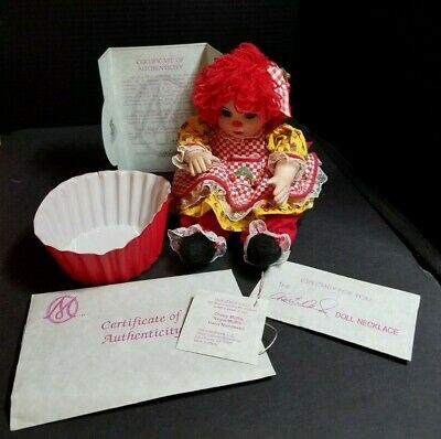 Marie Osmond Doll Cherry Muffin Rag A Muffin Collector Doll