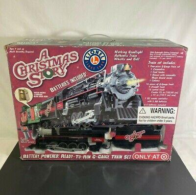 LIONEL CHRISTMAS STORY G-GAUGE TRAIN SET BATTERY MIB