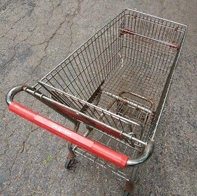 Vintage Walgreens Steel Pharmacy Grocery Cart Shopping Cart