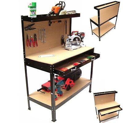 Arbeitsplatte Regal (Werkbank Werktisch Arbeitstisch Arbeitsplatte Lochwand Werkstatt Regal Werkzeug)