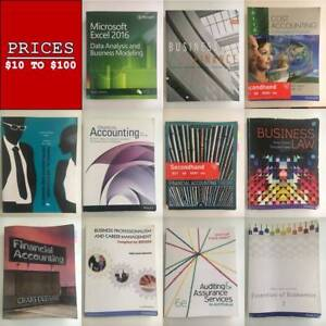 ACCOUNTING/FINANCE BUSINESS TEXTBOOKS