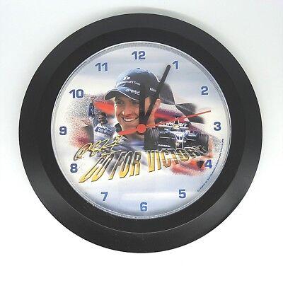 Formel 1 Nostalgie Ralf Schumacher Williams Uhr Wanduhr Lagerfund neu unbenutzt