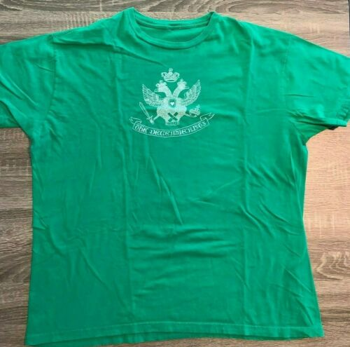 The Decemberists Shirt 2XL  2 headed Dragon Green 100% Cotton