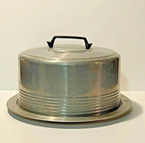 Vintage Regal Ware Aluminum Locking Cake Carrier