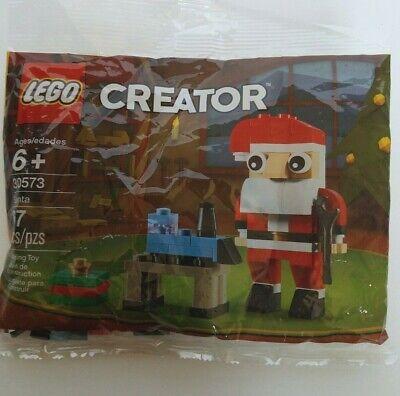 LEGO 30573 Creator Santa Clause 67 Pieces Christmas Toy Bench Train