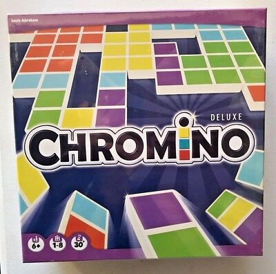 Asmodee Chromino Deluxe Board Game Toy 8-players Chromatic Domino New