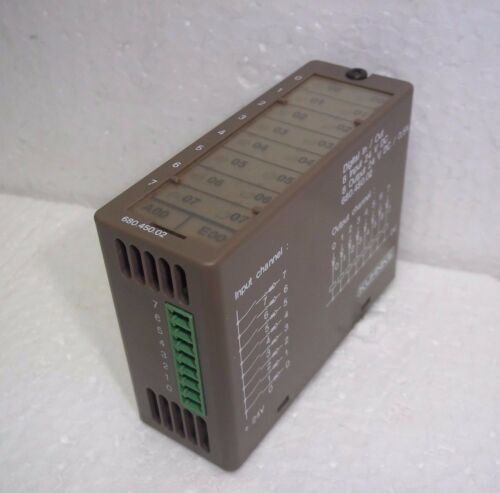 Kuhnke 680.450.02 Digital In/out 8ch In 24vdc Module