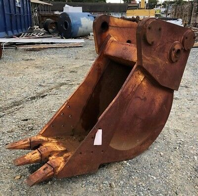 Gannon Mfg Co. 3 Tooth 20 Trench Dig Excavator Bucket Ditching Rock Can Ship