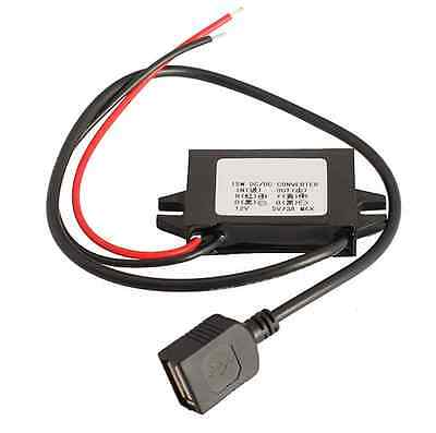 New Car Led Display Usb Power Supply 12v To 5v 3a Car Power Dc-dc Converters
