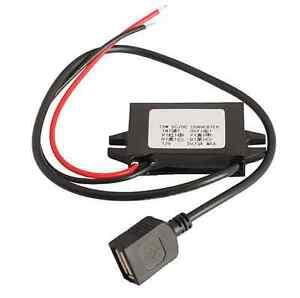 NEW Car Led Display USB Power Supply 12V To 5V 3A  Car Power DC-DC Converters