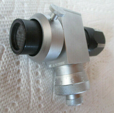 West Germany Zeiss Wetzlar Reticle Eyepiece Lens. 10mm