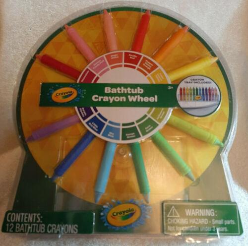 NEW Crayola Bathtub Crayon Wheel SEALED