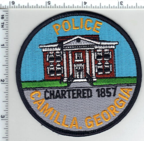 Camilla Police (Georgia) Shoulder Patch - new from 1980