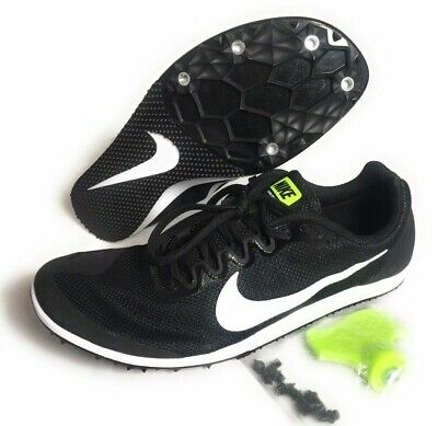 online store 18eb3 52508 Nike Zoom Rival D 10 Track Distance Spikes Shoes Men s Black 907566-017 Size  6.5