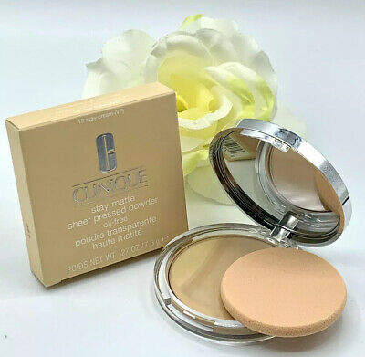 Clinique Stay Matte Sheer Pressed Powder Oil Free - STAY CREAM # 18, New in -