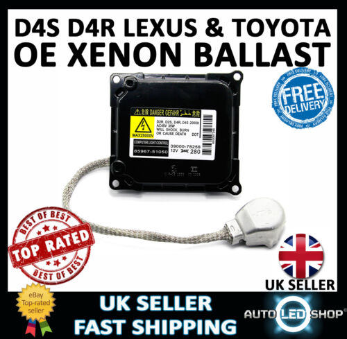 Xenon HID Headlight Control Unit Ballast D4S D4R for Toyota Lexus 85967-52050