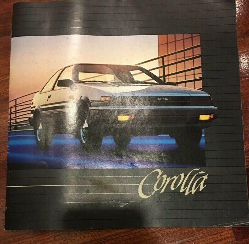 Vintage 1984 Toyota Corolla Brochure