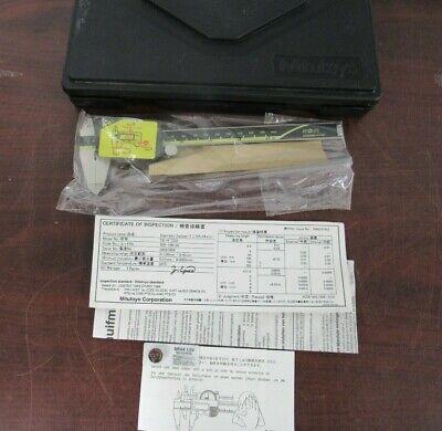 Mitutoyo 0-6 Digital Caliper In Case Cd-6 Csx Machinist Metal Tool  53d