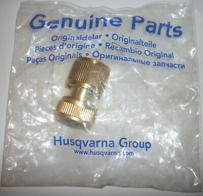 Husqvarna Quick Coupling Brass 543045612 For Floor Saw Fs309 Fs413 Fs410d