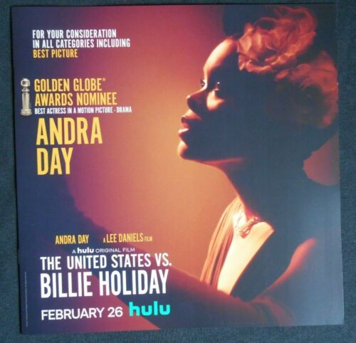 ANDRA DAY BILLIE HOLIDAY BOOKLET FYC PROMO