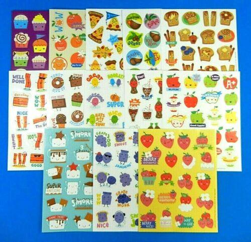 Eureka Scratch & Sniff Sticker Sheet *You Choose* Cola-Cakes-Orange-Pizza-Grape