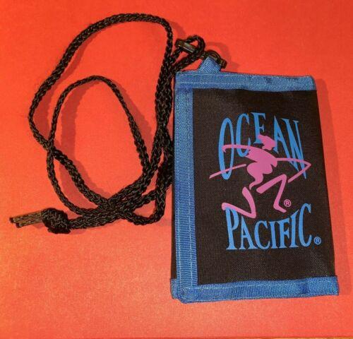 Ocean Pacific Vtg Trifold Wallet w/ Key Ring  Circa 1980