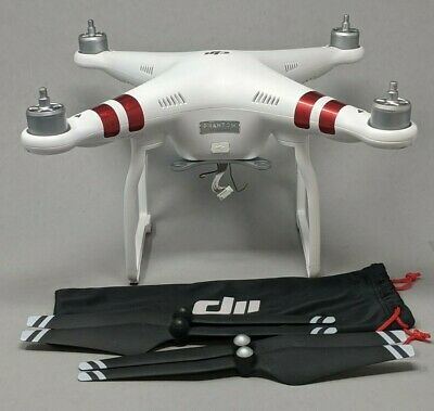 DJI Phantom 3 Standard QUADCOPTER ONLY gain props - Flies Great!