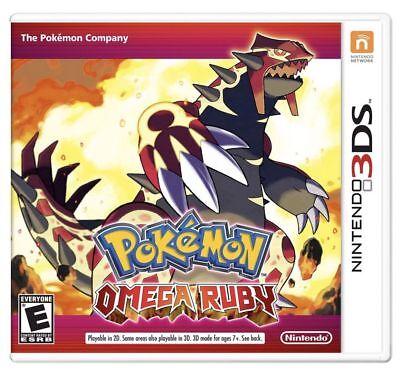 Pokemon Omega Ruby - 3DS ** NEW / SEALED ** + FREE Ship !!