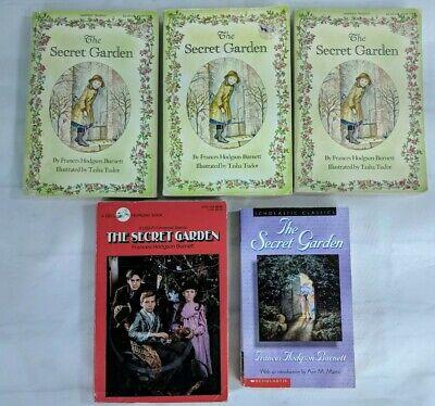 Classroom Garden Set (The Secret Garden 5 Book Lot Teacher Classroom Guided Reading Set Paperback )