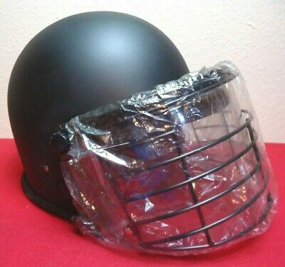 Nos Pro-police Ct100 Tacticalcorrectional Helmet W Face Shield Usa Made Lxl