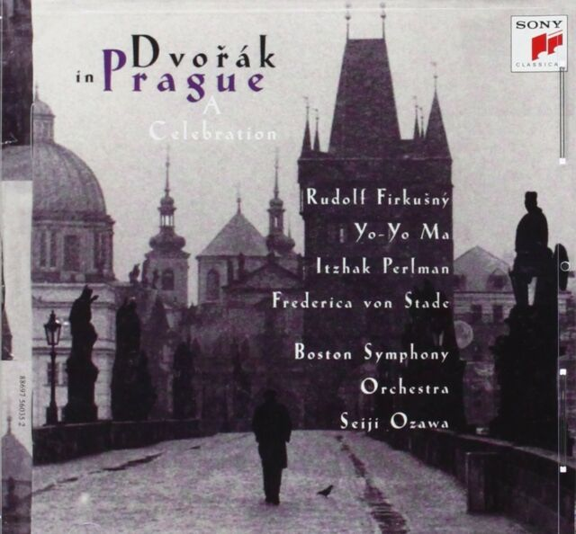 YO-YO MA/ITZHAK PERLMAN/+ - DVORÁK IN PRAGUE: A CELEBRATION  CD NEU
