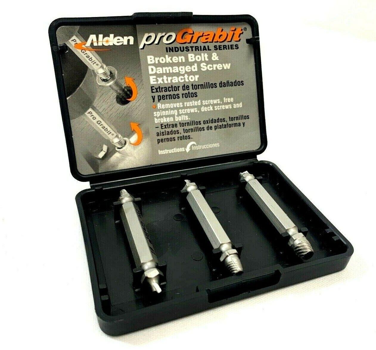 Alden 8430P Pro Grabit Broken Bolt and Damaged Screw Extract