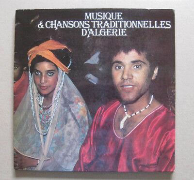 LP ETHNO  MUSIQUE & CHANSONS TRADITIONELLES D`ALGERIE FRANCE IPG 1979