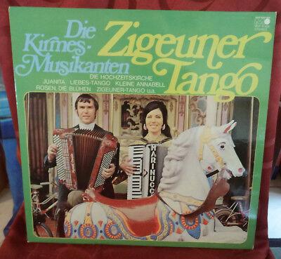 Die Kirmes Musikanten - Zigeuner Tango - LP  metronome von 1972 Akkordeon Tanz