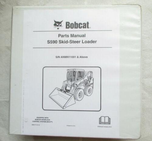 Bobcat S590 Skid-Steer Loader Parts Manual
