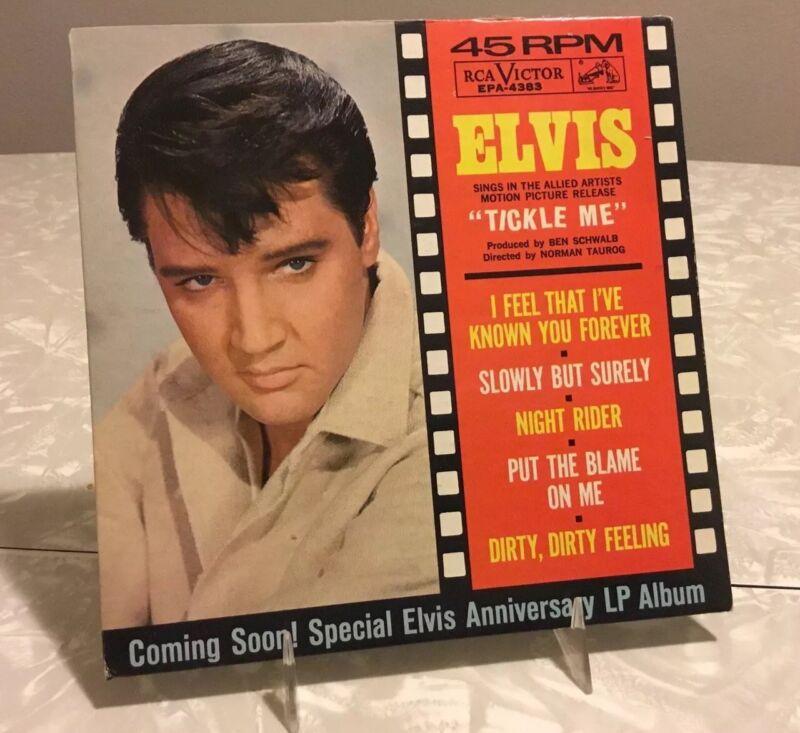 Elvis EPA 4383 TICKLE ME Cardboard Sleeve Only