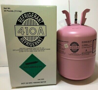 R410a, R-410a - R 410a Refrigerant 25lb tank. New Factory Sealed