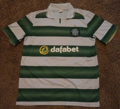 Celtic Football Shirts - NEW Dafabet Celtic Football Soccer Club Magners Jersey Polo Rugby Shirt Size XL
