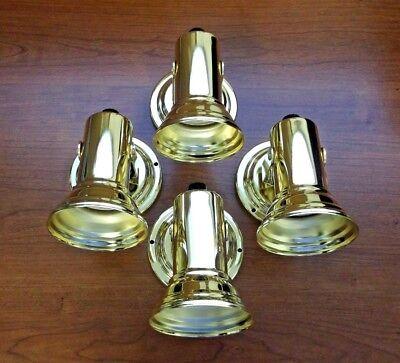 4 BBT Marine Grade 12 volt Brass LED Reading Lamps