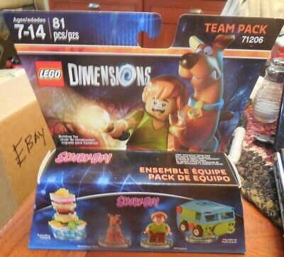LEGO® Dimensions Scooby Doo Shaggy Mystery Machine Minifigure Team pack 71206