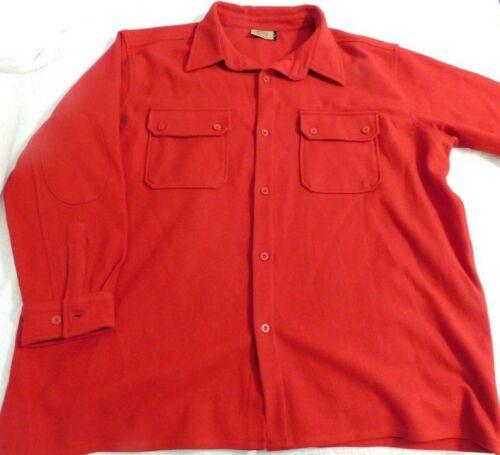 Boy Scouts Of America Classic Red Uniform Wool Washable Jacket Shirt BSA 3XL