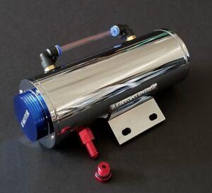 aluminum Overflow Coolant tank  Reservoir Cooling Radiator  water 500ML catch