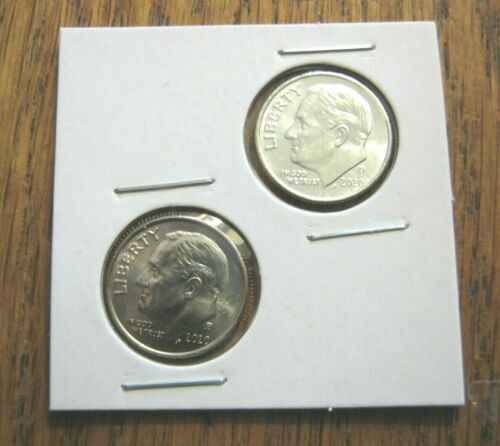 2020 P&D Roosevelt Dimes Both dimes and  low shipping