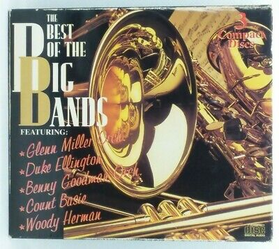 The Best OF The Big Bands 3 CDs 1994 (a-06) Jazz Big Band