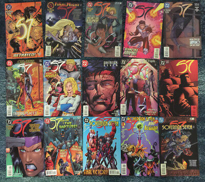 SOVEREIGN SEVEN 1996-1998 DC COMICS HIGH GRADE VFN/NM SET OF 23 CHRIS CLAREMONT