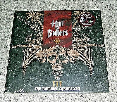 Hail Of Bullets - III The Rommel Chronicles (Auburn Vinyl, 250, Patch, Poster)