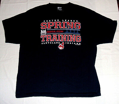 Cleveland Indians 2012 Spring Training Cactus League XL T-Shirt Gear For Sports