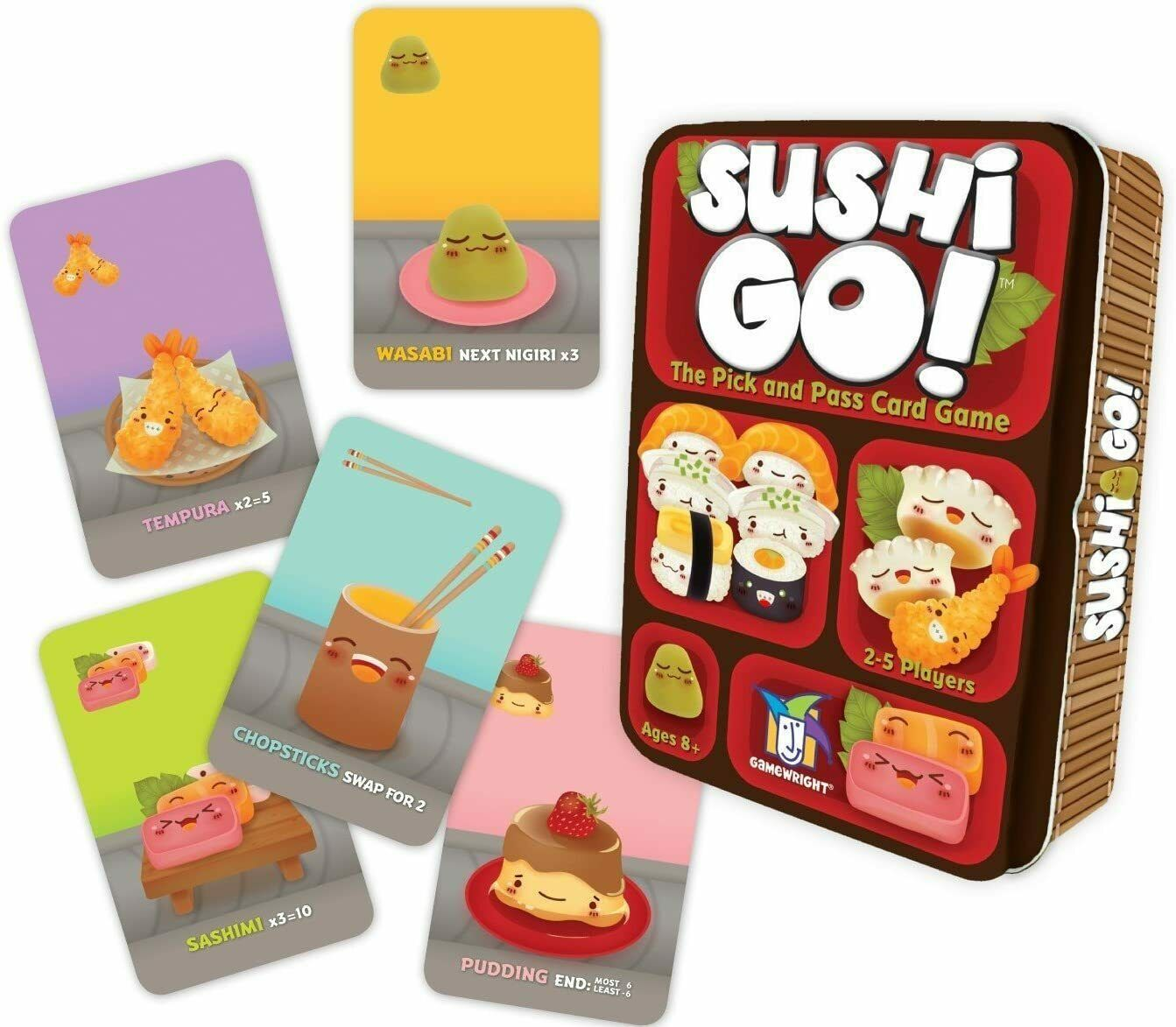 Sushi Go! The Pick and Pass Card Game Brand New Sealed