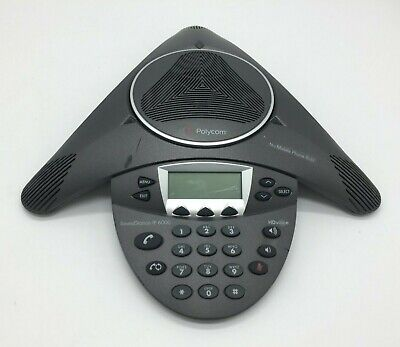 Polycom Soundstation Ip 6000 2201-15600-001 Conference Phone No Accessories